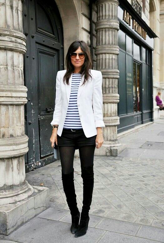 eb4b935f0665 10 Ways to Wear a White Blazer – Life of Lala