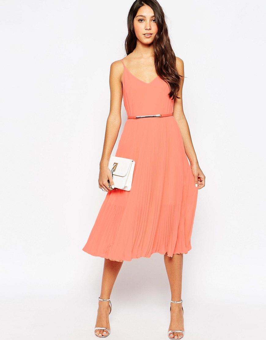 apricot pink graduation dress 2015
