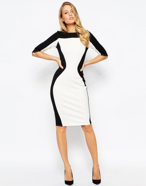 black and white, monochrome graduation dress 2015