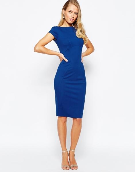 blue graduation dress 2015