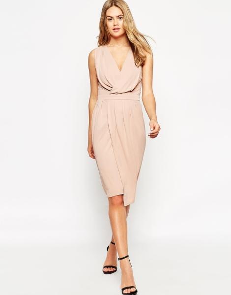 blush pink graduation dress 2015