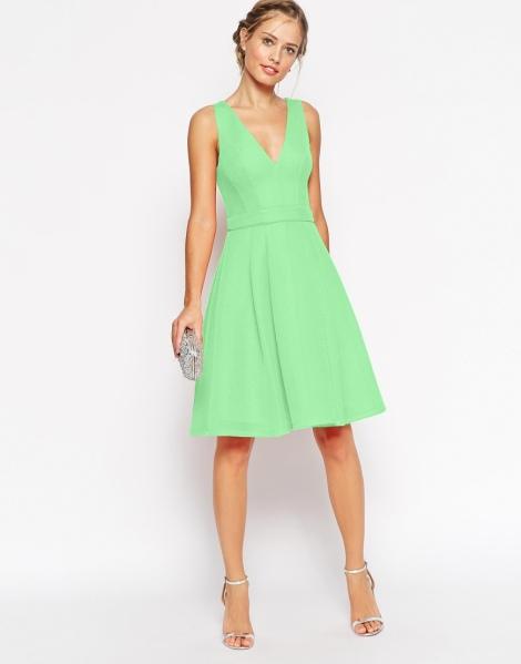 green graduation dress 2015