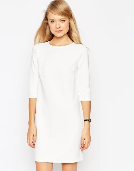 white long sleeve graduation dress 2015