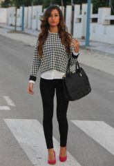 Workwear Ideas: Monochrome with a pop of colour   Life of Lala   https://lifeoflala.wordpress.com/