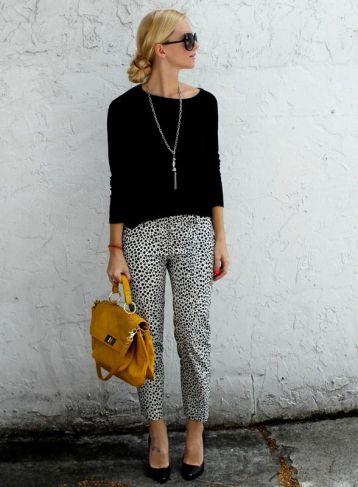 Workwear Ideas: Monochrome Trousers and Sweater   Life of Lala   https://lifeoflala.wordpress.com/