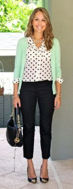 Workwear Ideas: Colourful Outfits, Green Cardigan   Life of Lala   https://lifeoflala.wordpress.com/
