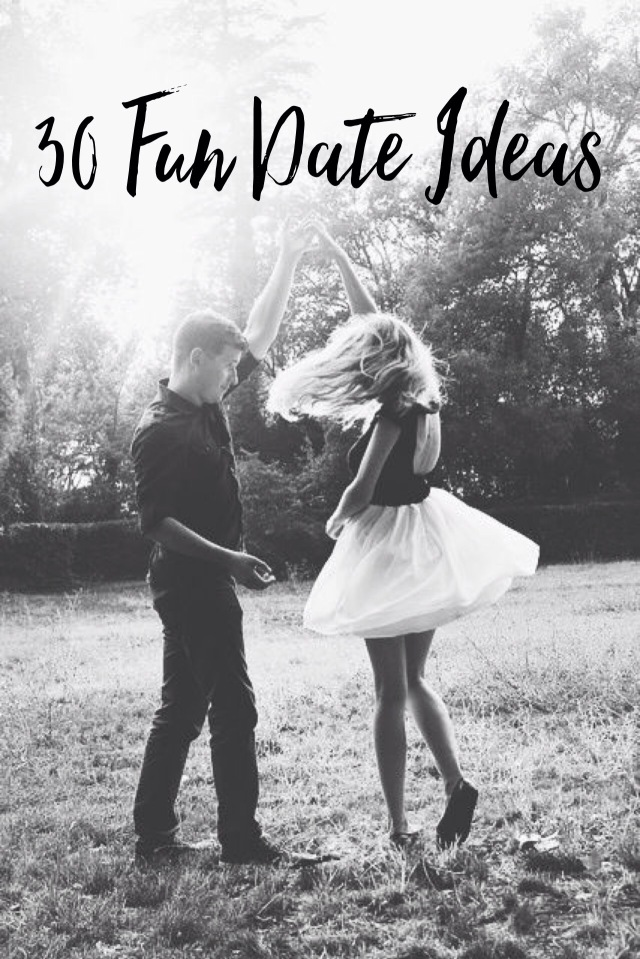 30 Fun Date Ideas
